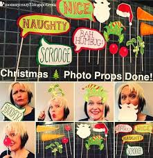 how to make a photo booth how to make christmas photo booth props diy crush