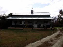 pole barn house milligan s gander hill farm the