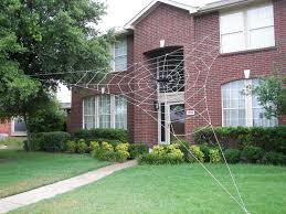giant inflatable spider halloween giant spider decoration on house house decor