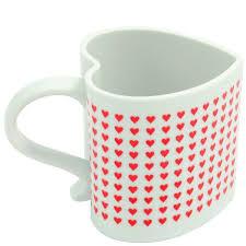 heart shaped mug i you heart shaped heat chaning mug holycool net