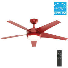 home decorators collection windward iv 52 in indoor red ceiling