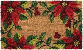 Coco Doormat Christmas Doormats Golly Gee Gardening