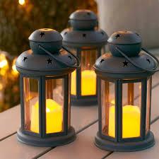 Outdoor Candle Lighting by Garden Lighting Ideas Inspiration Lights4fun Co Uk