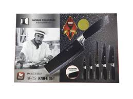 knife sets u003eimperial collection non stick coating knife set 6 pcs