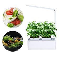 diy self watering herb garden amazon com smart herb garden grower kit pathonor 2 detachable 18
