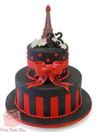 parisian themed birthday cakes birthday cakes