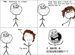 Rage Girl Meme - my new girlfriend rebrn com