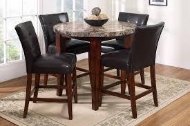 montibello round pub table 4 stools