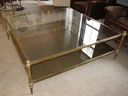 large glass coffee table large square glass top coffee table writehookstudio com