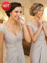 grey bridesmaid dresses buy bodycon scoop cap sleeves light grey bridesmaid dress with