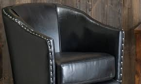 Black Leather Chairs How To Find Great Cheap Leather Chairs Overstock Com