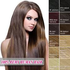 remy hair extensions clip in remy hair extensions 100 real human hair ebay