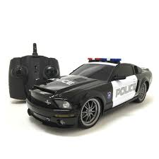 remote control police car with lights and siren hit the streets or the kitchen floor with this multi channels 1 18