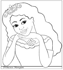 african american princess coloring colouring pages