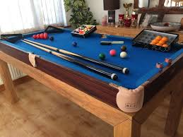 tabletop pool table 5ft 5ft bce tabletop pool snooker table with 2 sets balls 2 cues chalk