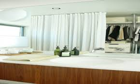 curtain closet ceiling mount curtain track closet modern with