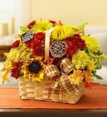 thanksgiving magic basket arrangement in bend or autry s 4