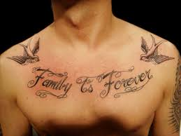 family is forever lettering miguel custom tat flickr