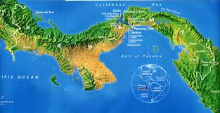 Physical Map Of Latin America by The History And Future Of The Panama Canal Panama Map And