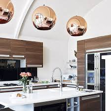 copper kitchen lights magnificent pendant light and golfocd Modern Pendant Lighting For Kitchen