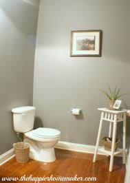 powder room paint color benjamin moore u0027s shaker gray powder