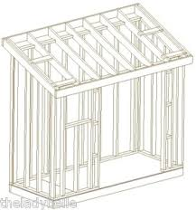 slant roof useful slant roof garden shed plans shed nov