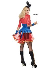 ringmaster halloween ladies ringmaster costume 01165 fancy dress ball