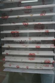 2017 lace clear plastic roller blinds flexible curtain track sun