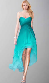 pretty sweetheart ombre high low prom party dresses ksp412 uk