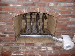 astonishing fireplace wood grate blower in white paint color