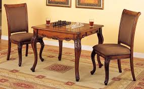 bedroom marvelous steve silver piece tournt dining game table