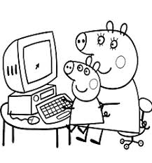 peppa pig coloring pages drawing picture 37 15 anos