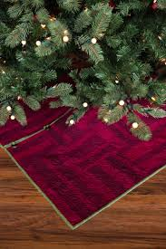 wonderland a christmas tree skirt pattern empty bobbin sewing