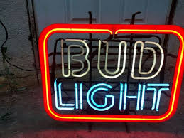 bud light neon signs for sale vintage bud light neon sign collectibles in cbell ca