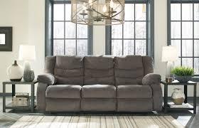 Grey Recliner Sofa Tulen Grey Reclining Sofa All American Furniture Buy 4