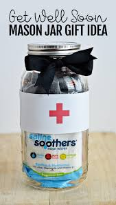 get better soon gift ideas get well soon jar gift idea
