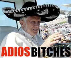 Quit Work Meme - pope benedict xvi s resignation know your meme