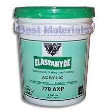 elastahyde 770 white elastomeric acrylic roof base coat 5g