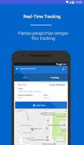 cek resi raja ongkir aplikasi cek tarif ongkir ekspedisi android online berita logistik