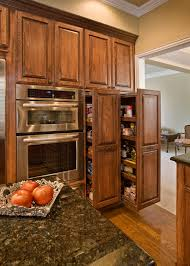 Pull Out Pantry Cabinets Double Pantry Pullout Kitchen Cabinets Reno