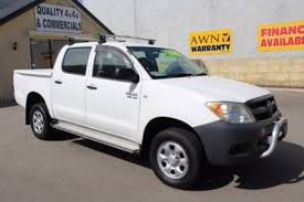 Awn Warranty 2006 Toyota Hilux Dual Cab 4x4 Ute Cars Vans U0026 Utes Gumtree
