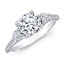 solitaire stone rings images Battle of the classic engagement rings solitaire vs 3 stone jpg