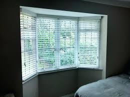 Louver Blinds Repair Window Blinds Window With Blinds Wood Installed To A Bay In