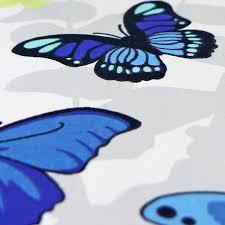 butterfly girls bedding girls butterfly bedding reversible polka dot cotton rich duvet