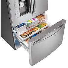 Lg French Door Counter Depth - lg lfx25991st counter depth refrigerator 35 3 4