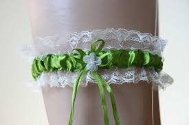 jarretiere mariage jarretière mariée ruban et fleur accessoire mariée