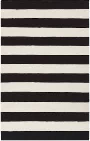 Striped Runner Rug Magnificent Black And White Striped Runner Rug Black And White