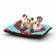 Pink Camo Dog Bed Lux Accessories Pawtners In Crime From Amazon Amazon