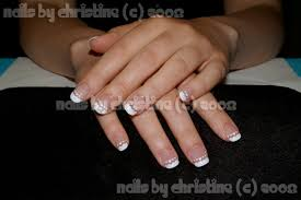 airbrushed french manicure nail art archive style nails magazine