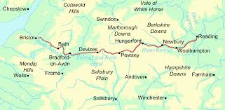 Hampshire England Map by Kennet And Avon Canal Walking Holidays And Hiking Tours In England